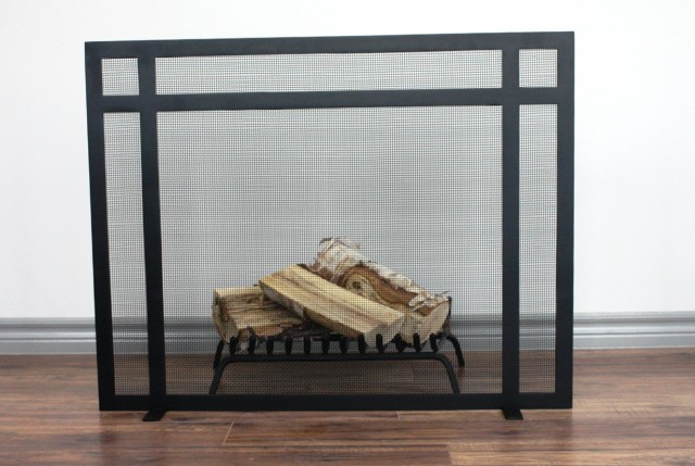 Custom Fireplace Screens Los Angeles