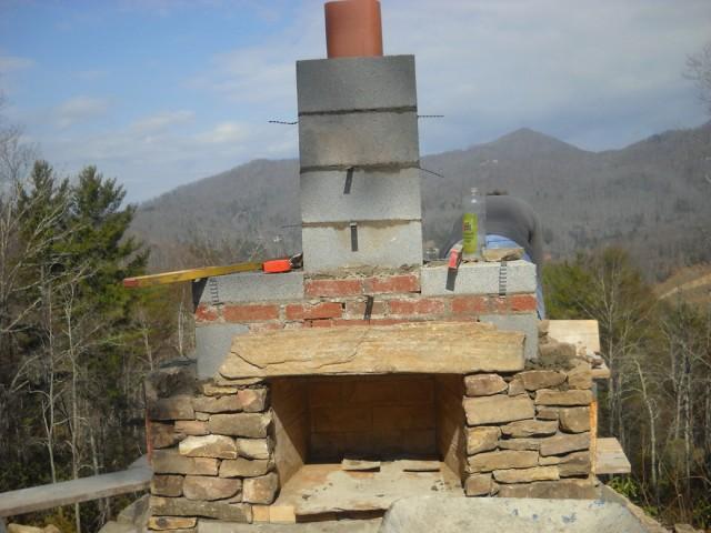 Diy Outdoor Fireplace Construction