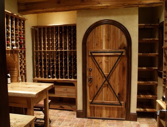 Diy Wine Cellar Door