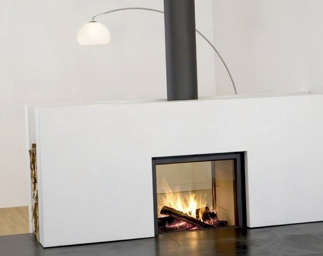 Double Sided Wood Burning Fireplace Australia