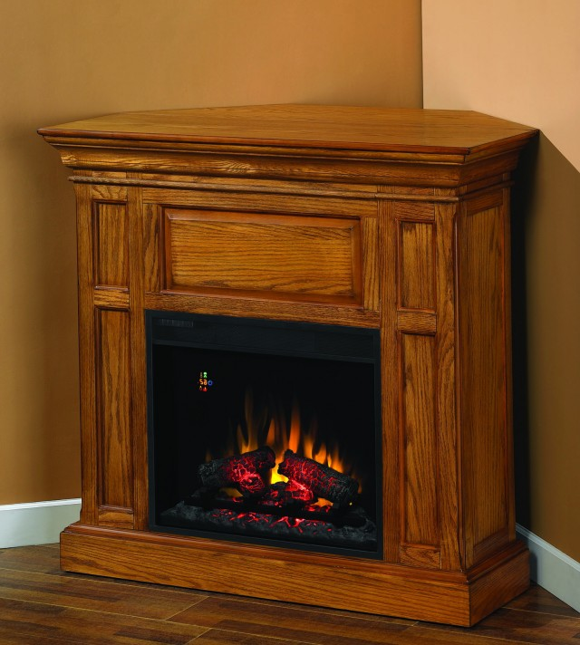 Electric Fireplaces Corner Units