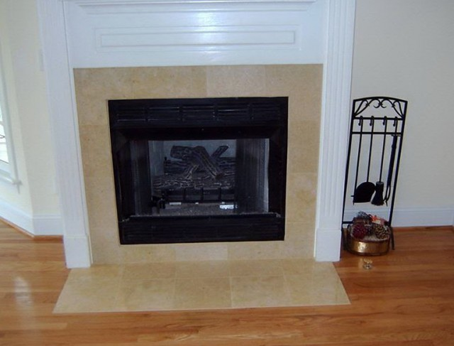 Fireplace Design Ideas With Tile