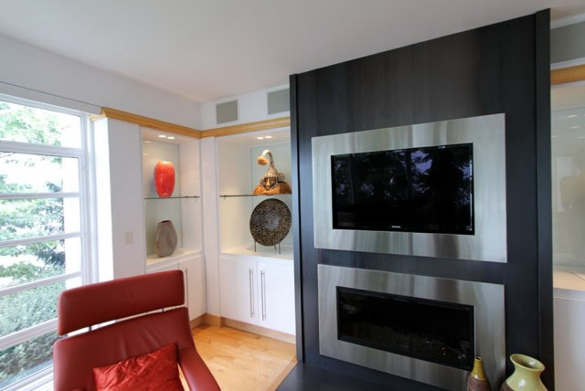 Fireplace Design Ideas With Tv Above