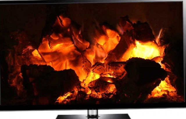Fireplace Video Loop Free