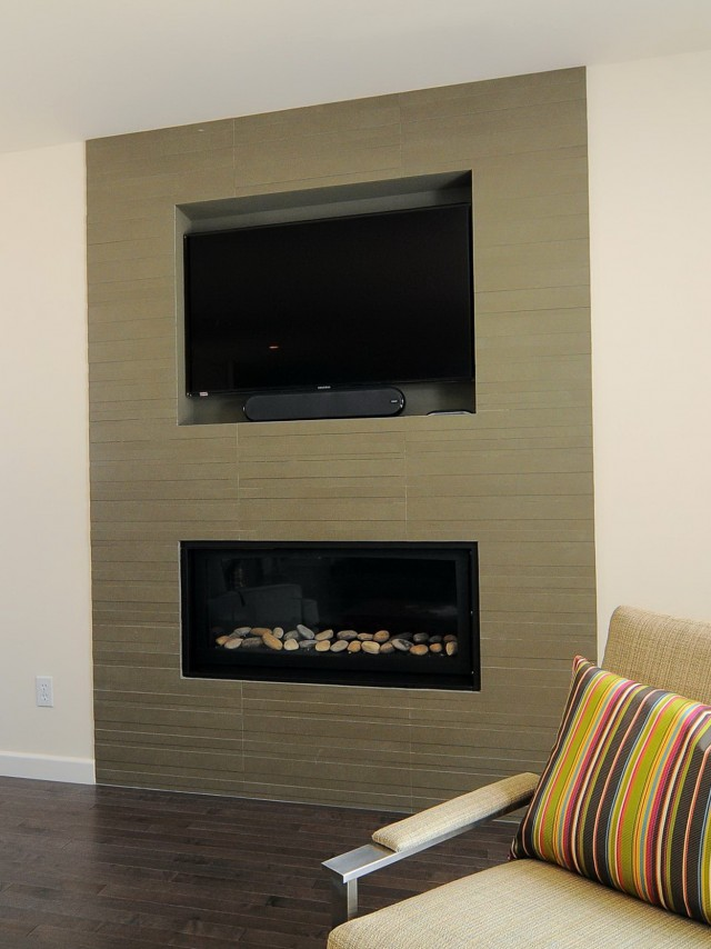 Floor To Ceiling Fireplace Tile