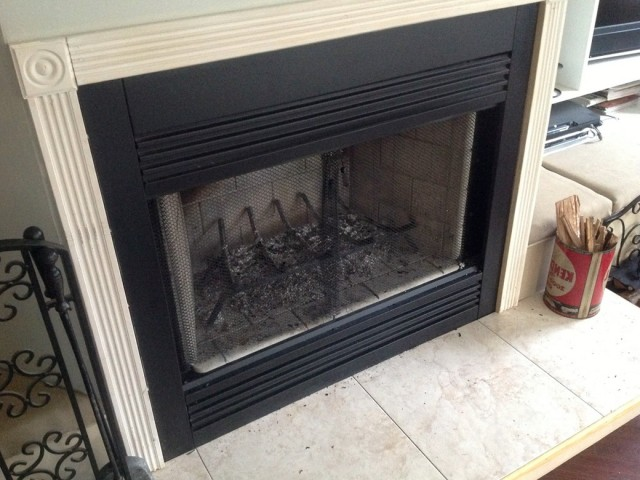 Gas Fireplace Covers For Draft