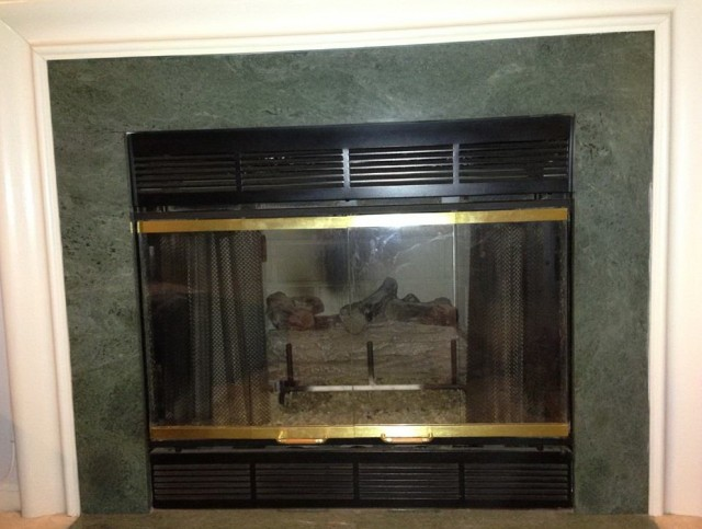 Gas Fireplace Front Cover