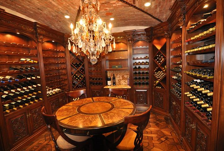 Luxury Home Wine Cellars