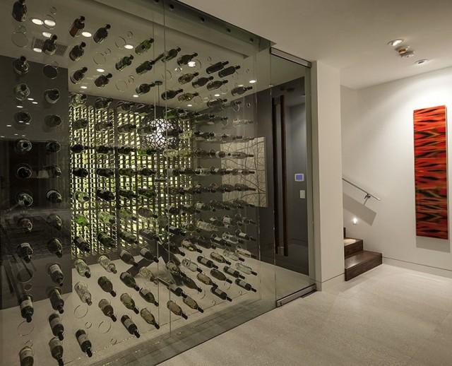 Modern Home Wine Cellar