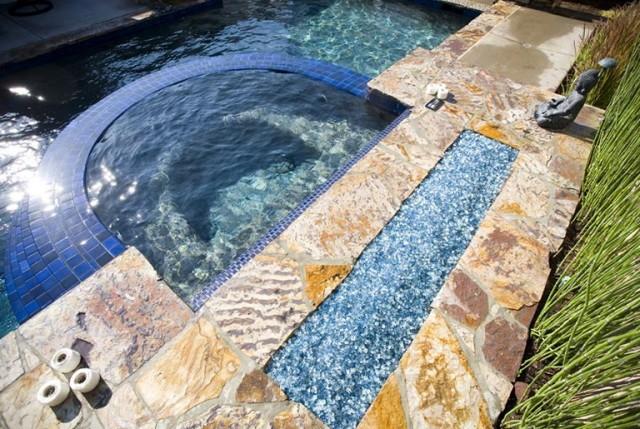 Outdoor Fireplace Glass Rocks