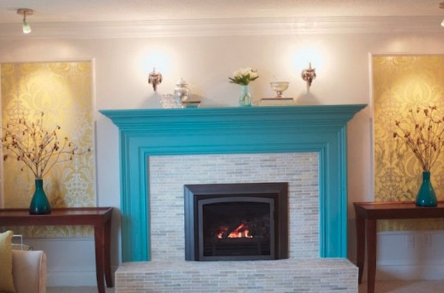 Painting Brick Fireplace Color Ideas