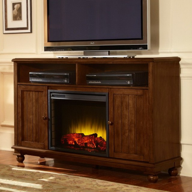 Pleasant Hearth Media Electric Fireplace