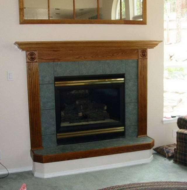 Raised Fireplace Hearth Photos