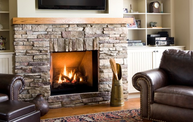 Stone Gas Fireplaces Pictures