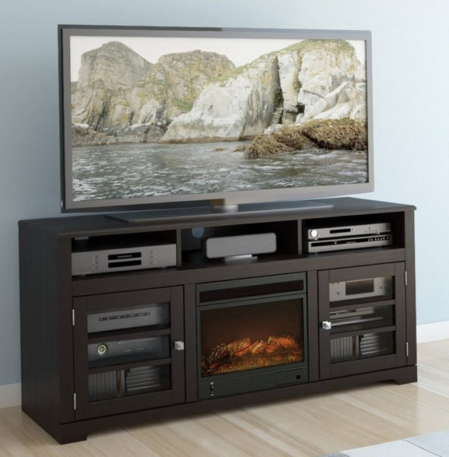 Tv Stand Fireplace Home Depot