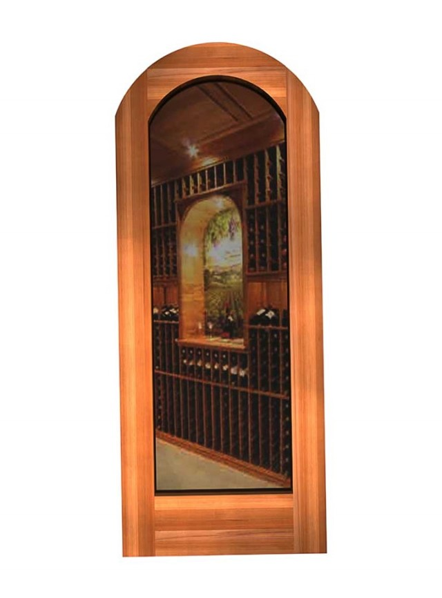 Wine Cellar Door Glass