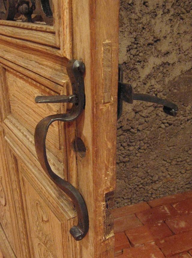 Wine Cellar Door Handles