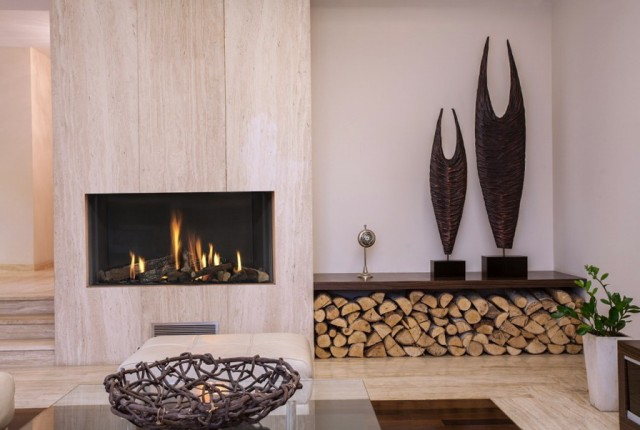 Built In Gas Fireplace Ideas