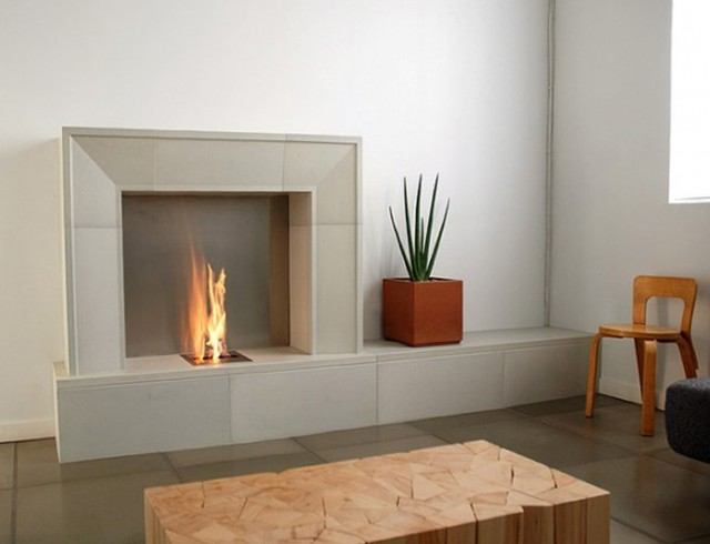 Built In Gas Fireplace Plans