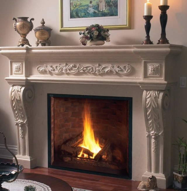 Cast Stone Fireplace Mantels Dallas