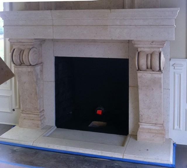Cast Stone Fireplace Mantels Houston