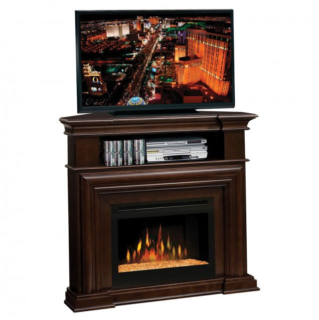 Corner Tv Stand Fireplace Electric