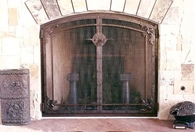 Custom Fireplace Screens Houston