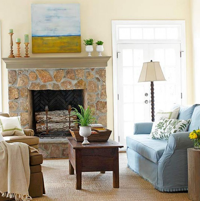 Decorating Ideas For Fireplaces