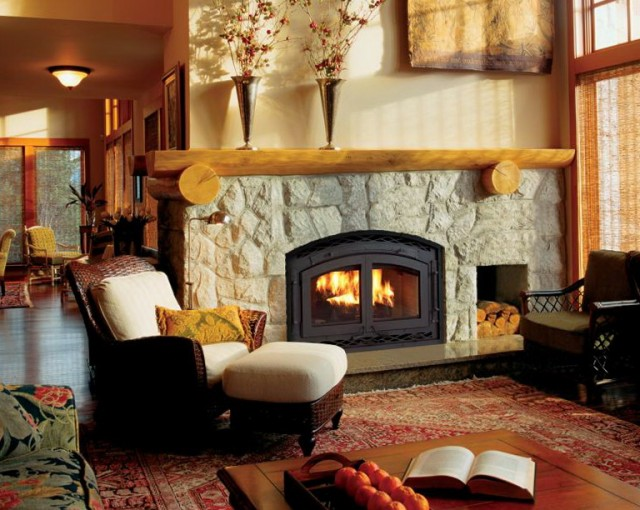 Double Sided Gas Fireplace Nz
