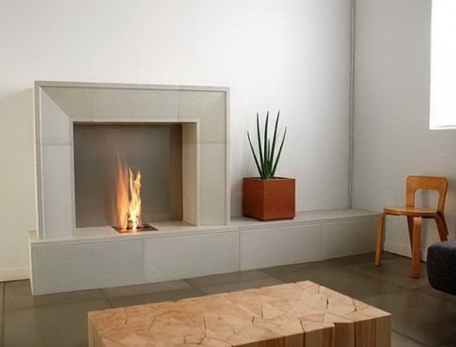 Electric Fireplace With Mantel And Hearth