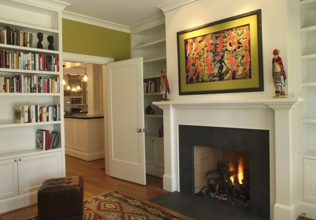 Fireplace Mantel Height From Floor