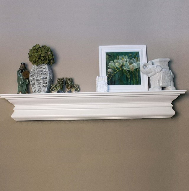 Fireplace Mantel Height Standard