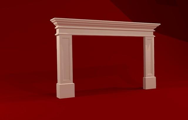 Fireplace Mantel Plans Drawings