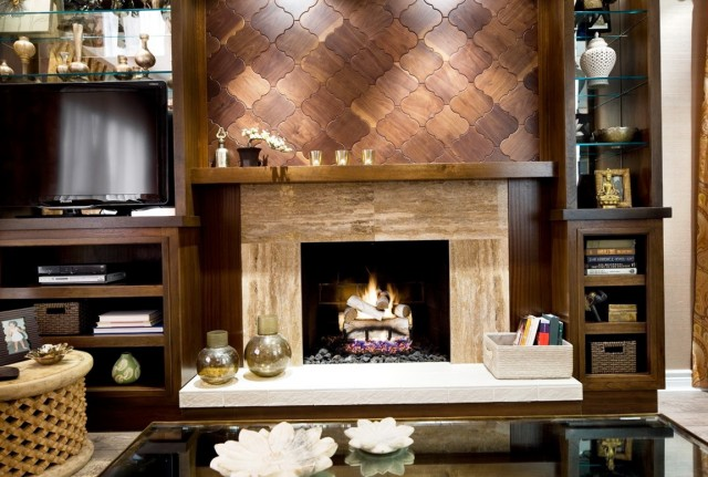 Fireplace Wall Ideas Photos