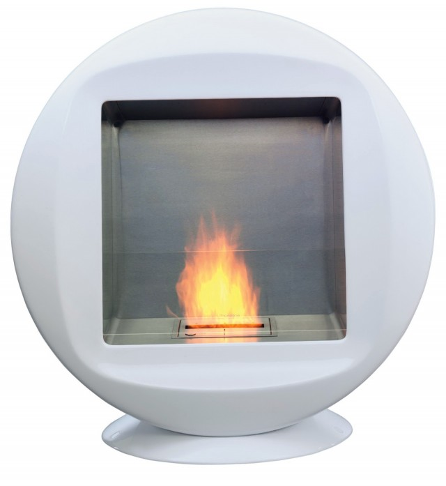 Gas Fireplace Corner Unit Ventless