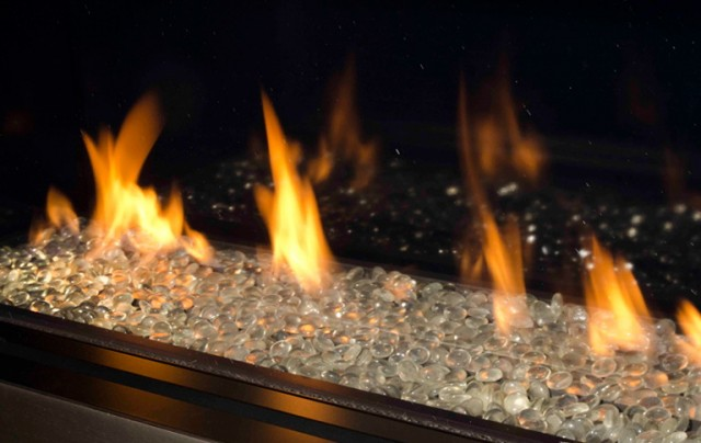 Gas Fireplace Kits With Glass Beads