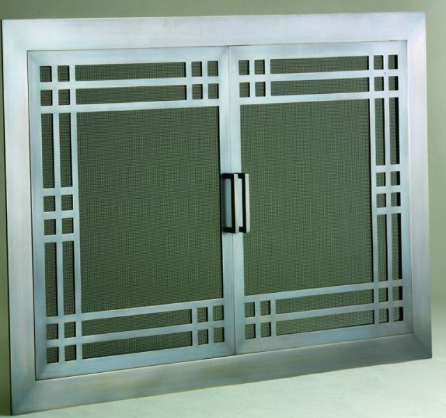 Gas Fireplace Screens And Doors