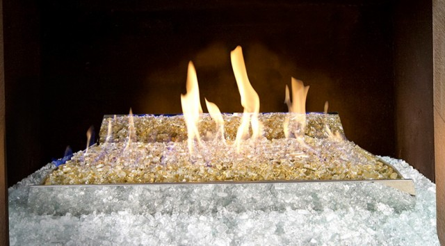 Glass Fireplace Rocks Charleston Sc