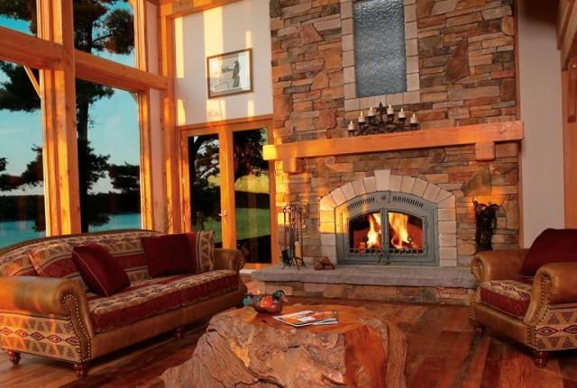 High Efficiency Fireplace Insert Wood Burning