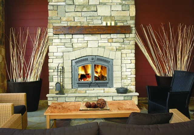 High Efficiency Gas Fireplace Pvc Vent