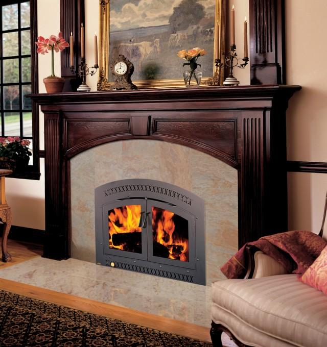 High Efficiency Wood Fireplace Insert