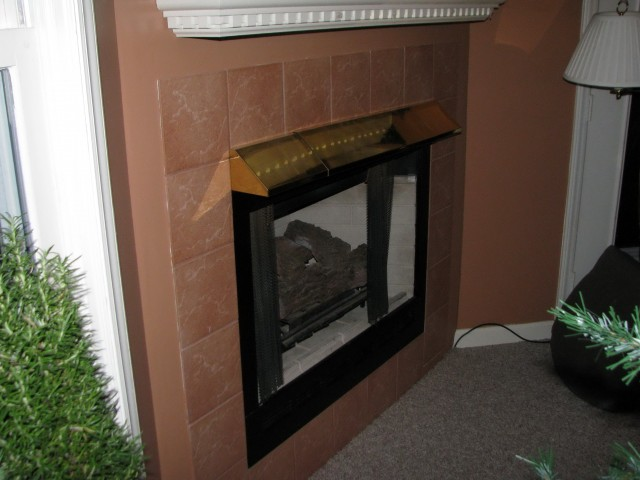 Mantel Height Over Gas Fireplace