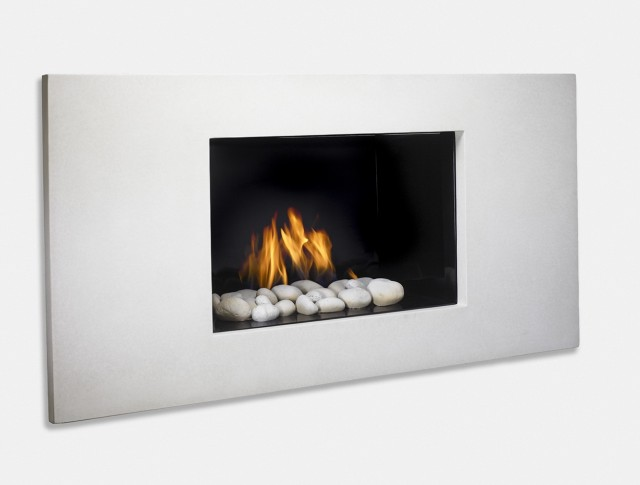 Modern Gas Fireplace Surrounds