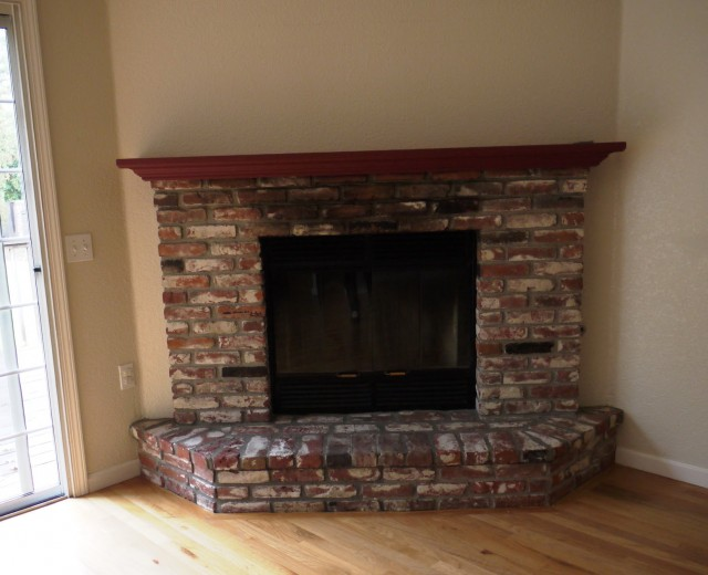 Photos Of Painted Brick Fireplaces