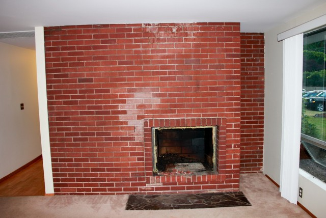 Pics Of Painted Brick Fireplaces