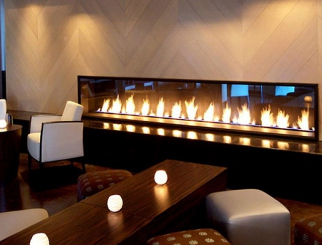 Pictures Of Modern Gas Fireplaces