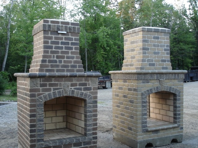 Pictures Of Small Outdoor Fireplaces