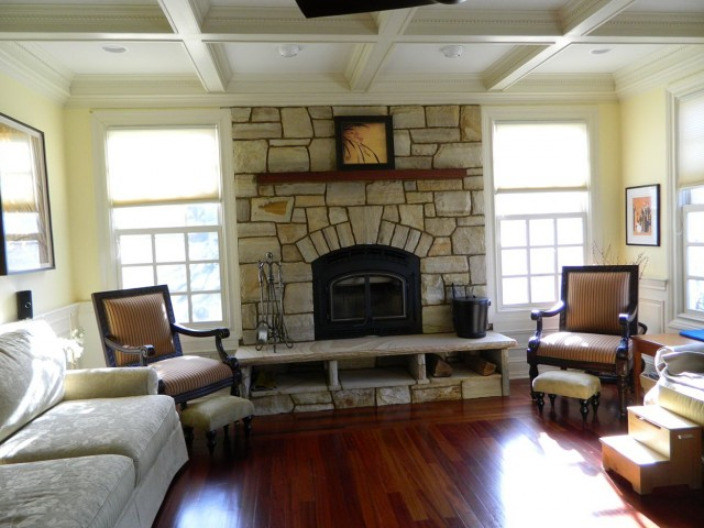 Typical Fireplace Mantel Height