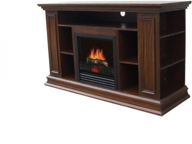 60 Electric Fireplace Media Center