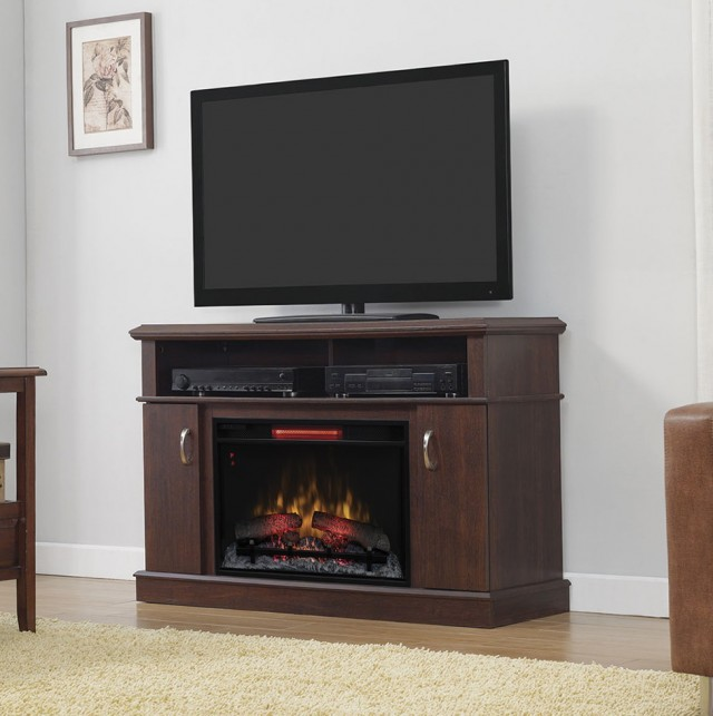 72 Electric Fireplace Media Center